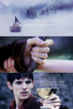 Merlin would do anything for Arthur, even before he really knew him...
