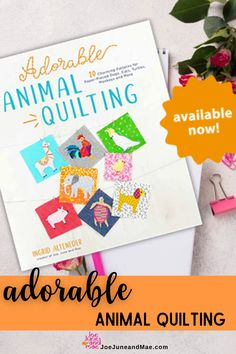 Discover how fun and easy quilting can be with my simple paper-piecing patterns featuring adorable animals like cats, turtles, elephants and zebras. Get your own quilt pattern book now! #joejuneandmae #quiltingproject #quilting #quiltpattern Quilt Blocks Easy, Modern Quilt Blocks, Modern Quilt Patterns, Paper Piecing Patterns, Easy Quilts, Beginner Quilt Patterns, Quilt Block Patterns, Sewing Patterns, Christmas Quilt Patterns