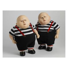 Tweedledee and Tweedledum - I love the fat boys !!