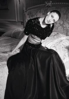 L'étrange beauté d'Anna Cleveland | Le Figaro Madame