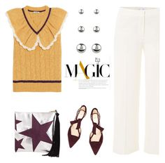 """""""Magic"""" by pattykake ❤ liked on Polyvore featuring Miu Miu, Vince, Alexandre Birman and Accessorize"""