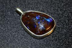 Large Boulder Opal, Boulder opal pendant, Opal, Rough Opal, Metaphysical by SagesLeaf on Etsy https://www.etsy.com/ca/listing/479881470/large-boulder-opal-boulder-opal-pendant