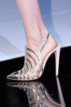 Emporio Armani SS 2013, bride, bridal, wedding, wedding shoes, bridal shoes, haute couture, luxury shoes