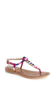 Sam Edelman 'Gail' Thong Sandal (Women) available at #Nordstrom