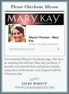 Please Checkout Allyson
