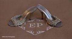 Freya Rose Cinderella Shoe shot on location at Ellenborough Park. Enquire For Your 2014 today #WeddingVenueGloucestershire   http://www.ellenboroughpark.com/weddings.html