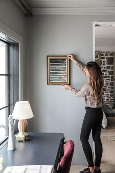 Diy Artwork, Diy Wall Art, Home Design Diy, House Design, Canvas Frame, Canvas Art, Diy Painting, Wall Design, Living Spaces