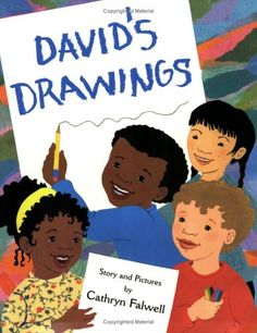 """David's Drawings: David makes friends after his classmates help  him complete his drawings, """"This reassuring story is sure to provide comfort and encouragement as children face the challenge of making friends"""""""