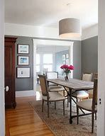 The 8 Best Benjamin Moore Paint COLOURS for Home Staging, Selling. benjamin moore chelsea gray in a dining room with white cove ceilings. Living Room Paint and Decor Best Paint Colors, Grey Paint Colors, Paint Colors For Home, House Colors, Dark Gray Paint, Wall Colors, Gray Color, Neutral Colors, Pink Color