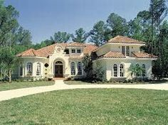 Browse cool Italianate house plans now! We offer Italian villa style home designs, small floor plans w/Italianate architecture & modern open floor plans & more. Florida House Plans, Florida Home, Florida Style, Spanish Style Homes, Spanish House, Mediterranean House Plans, Mediterranean Architecture, Mediterranean Decor, French Country House Plans
