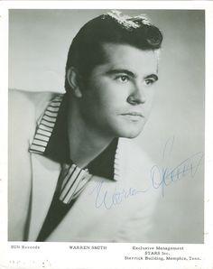 Warren Smith (Autographed)