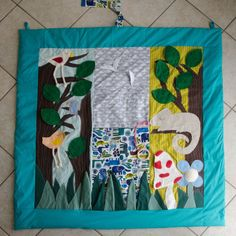 Play mat for babies from 0 to 2 years old by TaPetite on Etsy