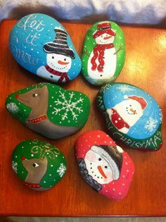 Painted rocks for christmas rock painting, pebble painting, pebble art, . Pebble Painting, Pebble Art, Stone Painting, Diy Painting, Rock Painting, Stone Crafts, Rock Crafts, Xmas Crafts, Crafts For Kids