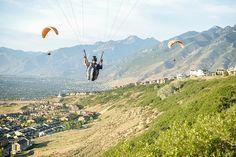 18th birthday paragliding.