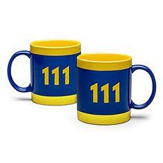 Fallout Vault 111 16 oz Mug | ThinkGeek