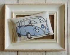 Retro camper van lavender bag, £4.00.  http://fromragstobags.com