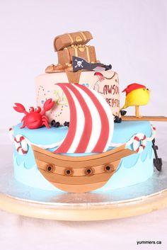 Adorable Pirate Cake Pic 3