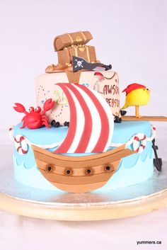Adorable Pirate Cake Pic 3