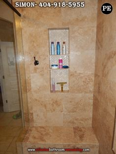 Shower Recessed Shelf - Niche