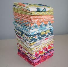 Flora by Joel Dewberry for Free Spirit Fat Quarter Bundle - Lady Belle Fabric  - 1