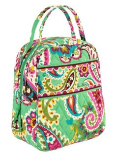 Lunch Bunch | Vera Bradley $34 This is so cute i want this so bad it is awesome
