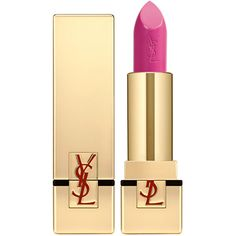 Yves Saint Laurent Beauty Women's Rouge Pur Couture (€33) ❤ liked on Polyvore featuring beauty products, makeup, lip makeup, lipstick, beauty, lips, cosmetics, fuschia, yves saint laurent and yves saint laurent lipstick