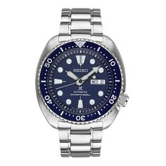 Seiko Turtle Prospex Men's Dive Watch SRP773 Blue Face and Bezel