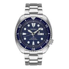 Seiko Turtle Prospex Men's Dive Watch SRP773 Blue Face and Bezel
