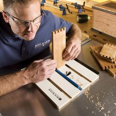 Rockler Router Table Box Joint Jig - Rockler Woodworking Tools