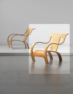 GERALD SUMMERS Rare armchair, circa 1934-1939