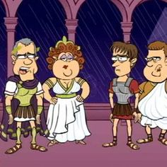 Julius Caesar: The play in a 7-minute cartoon updated for contemporary audiences. Includes introduction of major themes. A great pre-reading activity!