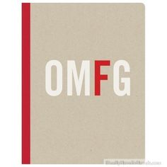 OMFG KRAFT JOURNAL    (an inspirational blank canvas)         When it comes to writing, sometimes all the inspiration you need is a blank canvas and a great one-liner. With minimally adorned—yet attractive—covers and extremely straight lines inside, our new Kraft journals are the perfect repository for all your brilliant—or not so brilliant—thoughts.