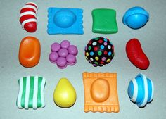 Candy Crush Toppers for Cookies Cakes & by PiccoliniConfections