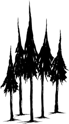 Beccy\'s Place: Pine Trees Freebie