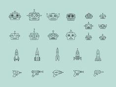 https://dribbble.com/shots/1645183-Robots