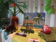 Puerto Rican Themed like the post card idea Grown Up Parties, Summer Parties, 50th Birthday Party, Mom Birthday, Birthday Ideas, Hispanic Art, Creative Party Ideas, Divorce Party, Ideas Para Fiestas