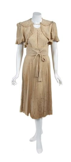 """Eleanor Powell costume from """"Broadway Melody of 1940"""" By Adrian."""