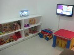 play room-shelves as dividers