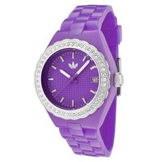 Adidas Midsize Cambridge Purple Glitz Ladies Watch