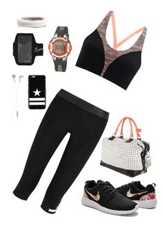 """Untitled #436"" by sofia-boubou on Polyvore featuring adidas, Sweaty Betty, Armitron, Diane Von Furstenberg, Frends, L. Erickson, NIKE and Givenchy"