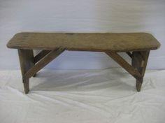 Primitive bench. : $45