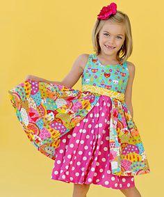 Happy Katy Dress - Infant, Toddler & Girls