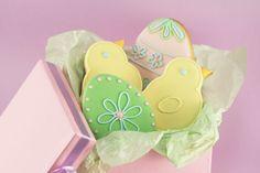 Easter Eggs & Chicks - so pretty