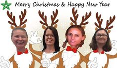 We are all looking a bit stunned, where did the year go? The ladies here at the Australian office want to wish you a very merry Christmas and Happy New Year.