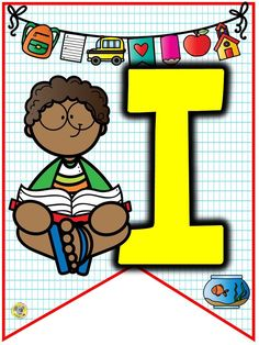 Online shopping for Boys' Back-to-School Essentials from a great selection at Clothing, Shoes & Jewelry Store. 1st Day Of School, Back To School, Capital Alphabet, Teaching Letters, Bunting Banner, Binder Covers, Writing Styles, Kindergarten Worksheets, Cover Pages