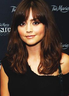 jenna coleman bangs - Google Search
