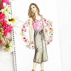 596 Likes, 28 Comments - Dipti Patel Dress Design Sketches, Fashion Design Sketchbook, Fashion Design Drawings, Dress Illustration, Fashion Illustration Dresses, Fashion Model Sketch, Fashion Sketches, Croquis Fashion, Fashion Books