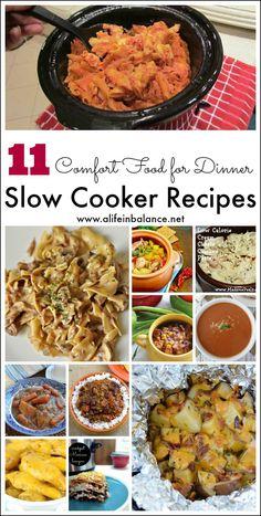11 Comfort Food Slow Cooker Recipes