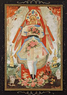Painter Ludovit Fulla and his depictions of Slovak. - Pictures of lost world Folk Art Flowers, Flower Art, Contemporary Decorative Art, Heart Of Europe, Russian Folk, Wedding Art, Naive Art, Bratislava, Oil On Canvas