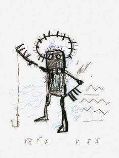 Jean Michel Basquiat - Untitled, Circa 1982 on MutualArt.com